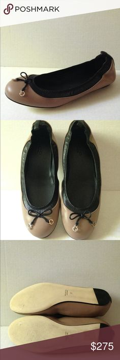 1dfaf04b0bb8c NWT Winter Rose Gucci Flats NWT Buttery soft Gucci flats that will become  your new favorite shoe. Size 37 Comes with box and dust bag. NO trades Gucci  Shoes ...