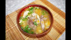Суп из тетерева с домашней лапшой Soup, Ethnic Recipes, Soups