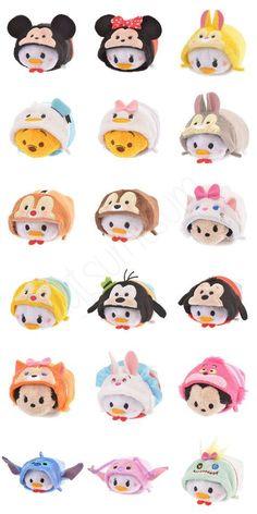 Disney Costume 21 New Tsum Tsum Costumes Disney Plush, Disney Toys, Disney Crafts, Disney Mickey, Disney Pixar, Disney Characters, Tsum Tsum Toys, Tsum Tsum Party, Disney Tsum Tsum