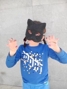 Bad kitty mask.