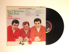 FALL SALE LP Album The Lettermen For Christmas by CharmCityRecords