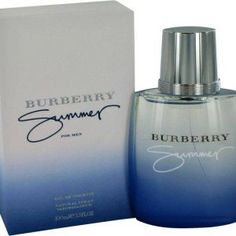 Shop for Burberry 'Summer' Men's Eau de Toilette Spray. Get free delivery On EVERYTHING* Overstock - Your Online Beauty Products Shop! Burberry Summer, Burberry Touch, Burberry Men, Burberry Cologne, Burberry Perfume, Men's Cologne, Perfume Store, Perfume Bottles, Eau De Toilette