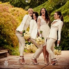 Trouser suits for bridal party?