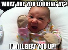 Funny pictures about Angry Baby. Oh, and cool pics about Angry Baby. Also, Angry Baby photos. Funny Baby Pictures, Cute Baby Photos, Funny Images, Funny Photos, Funniest Pictures, Friend Pictures, Bing Images, Baby Memes, Baby Quotes