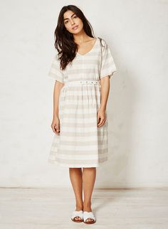 Latifa Dress - stripe