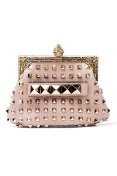laurensamsel:    This SS2012 Valentino is perfect. Tough with its studs but pretty in pink giving you the perfect combination of edgy and girly!
