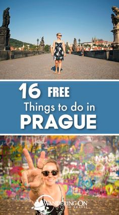 Heading to Prague? Travelling on a budget? We put together a budget guide to visiting the Czech capital as well as 16 free things to do in Prague. Prague Things To Do, Day Trips From Prague, Visit Prague, Prague Must See, Travel Guides, Travel Tips, Time Travel, Travel Destinations, Solo Travel