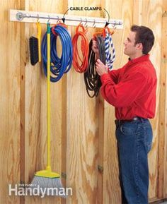 Assemble the parts and hang S-hooks