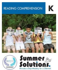 The Reading Comprehension series contains brief reading selections—folk tales, short stories, poetry, and non-fiction—followed by questions about story order, context clues, main idea, inferences, and author's purpose.  Series is available for grades K-6.