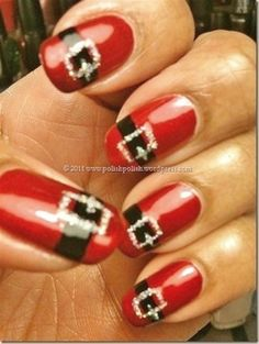 Keep your nails perfectly outfitted. These would be even better if they were French tips.