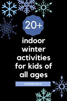 Are your children bored and stuck inside for the winter? I've got a whole list of indoor activities for kids to help you avoid the fussing and whining. Rainy Day Fun, Winter Activities For Kids, Lose My Mind, Sensory Bins, Infant Activities, Business For Kids, How To Make Paper, Good Movies, Children