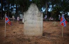 Civil War descendants in Brazil fly Confederate flags - The Washington Post American Civil War, American History, Veterans Cemetery, Living In Brazil, Saint Barbara, South Usa, Culture War, Confederate Flag