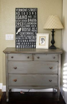 Grey Dresser With Mirror By FunCycled. FOR SALE Only $425.  Www.funcycled.com | FunCycled Painted Furniture Projects | Pinterest | More Gray  Dresser, ...