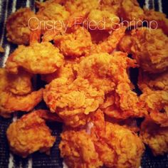 <~~~so this link doesn't bring me anywhere for the recipe! I'm trying to search for the original in the meantime… Let me know if you find it! Fried Shrimp Recipes, Shrimp Dishes, Fish Dishes, Fish Recipes, Seafood Recipes, Cooking Recipes, Cajun Dishes, I Love Food, Good Food