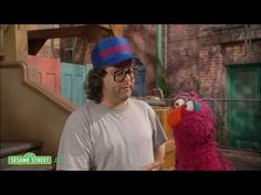 The World Champ Judah Friedlander on Sesame Street - YouTube