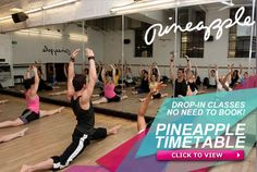 Pineapple Dance Studios you so have to go and visit if in London!