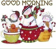 ♡ Christmas Good Morning ♡