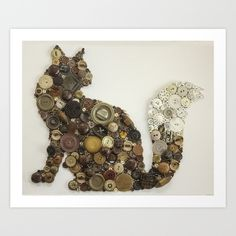 My first Cat Button art. Look me up! I am Jennifer Wolfe :)