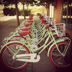 Bikes for borrowing at The Carneros Inn