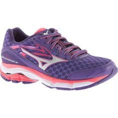 buy popular 010ce 9d6cf Women s Mizuno Wave Inspire 12 Running Shoe Royal Purple  Diva Pink Shoes  Outlet,
