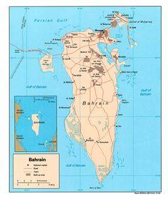 Carte Bahrain