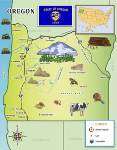 1000 Images About Oregon For Kids On Pinterest  Oregon