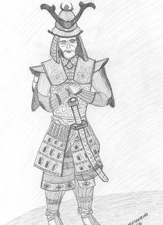 Trabalho em lápis 2016 Samurai
