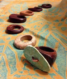 Win a wooden ring with turquoise inlay from Nate Barton Works! Door prizes awarded all day at The Big Day!