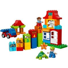 Great deals on Lego Duplo trains, helicopters, fire stations and much more at Smyths Toys. Get your kids building Lego with Duplo! Lego Jurassic World, Building For Kids, Lego Building, Train Lego Duplo, Legos, Boutique Lego, Classic Lego, Buy Lego, Creative Play