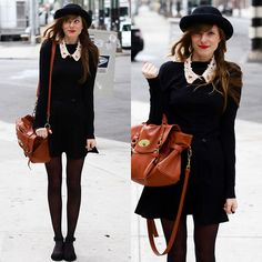 A new york city gal ♥ (by Steffy Kuncman) http://lookbook.nu/look/3247879-a-new-york-city-gal