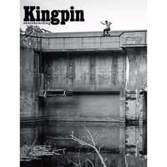 Barney Page teetering on the edge for the new Kingpin Magazine cover Ryan Sheckler, Abandoned, Skateboarding, Artwork, Buildings, Barcelona, Photography, Magazine, Cover