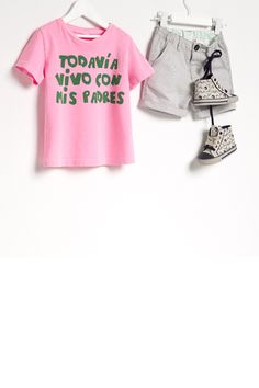 """Adorable """" I still live with my parents"""" Lookbook - Baby -  #Zara"""