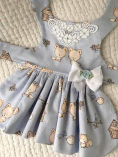 Items similar to Flannel Night Gown Dog Dress Dog or Cat Harness Custom Made on Etsy Girl Dog Clothes, Puppy Clothes, Doll Clothes, Small Dog Clothes, Dog Dresses, Girls Dresses, Dog Clothes Patterns, Pet Fashion, Little Girl Dresses