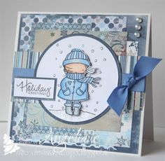 Christmas Challenges {with sketches}: Challenge #31 card by Angelique