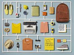 Mr Porter Travel Promo by Sarah Parker Creative Design Set, Web Design, Layout Design, Print Design, Flat Design, Email Newsletter Design, Email Design, Branding, Corporate Design