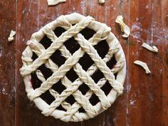 For double extra credit, make a lattice out of braids. | 23 Ways To Make Your Pies More Beautiful