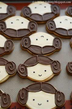 i heart baking!: princess leia cookies for a star wars birthday party