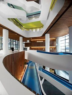 A Working Work of Art: Hassell Transforms Office Life for Melbourne's Medibank   Projects   Interior Design