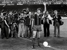 Johan Cruyff en el Barcelona.