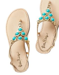 Lilly Pulitzer Beach Club Sandal