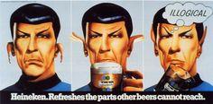 Spock/ Heineken