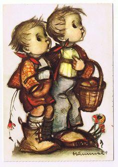 Many Happy Returns Hummel Postcard | eBay