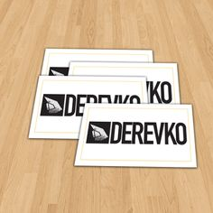 Derevko Surf Standard Vinyl Stickers Size 100x50mm   #ozstickerprinting #standardvinylstickers #vinylstickers #vinylprinting #outdoorstickers #austickers #stickerau #stickerprinting #sydneystickers