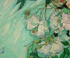 "Van Gogh detail of ""Roses"""