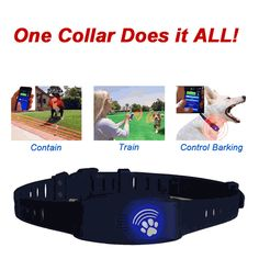 Expressive Pet Dog Anti-barker Collar Digital Sound+vibration Training Bark Control Collar Smart Accessories Back To Search Resultsconsumer Electronics
