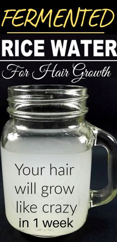 Powerful Rice Water Recipes For Healthy Natural Hair Growth In Just 1 Week - Type and Seek Rice Water Recipe, Water Recipes, Protective Hairstyles, Diy Hairstyles, Protective Styles, Wedding Hairstyles, Toddler Hairstyles, Dreadlock Hairstyles, Homecoming Hairstyles