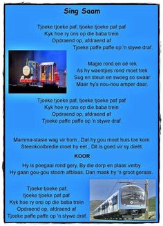 Rhymes Songs, Kids Poems, South African Recipes, Baby Blog, Afrikaans, Child Development, Kids And Parenting, Book Lovers, Singing