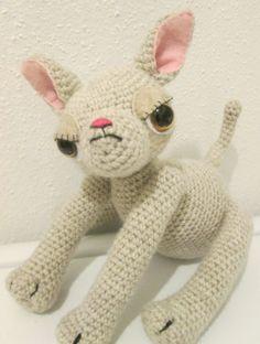 Chihuahua amigurumi stuffed animal by DreamsInAmigurumi on Etsy, $35.00
