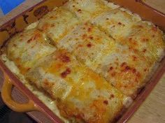 Best recipes in world: CHICKEN ALFREDO LASAGNA ROLLS