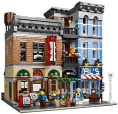 """Each year Lego puts out an exclusive modular building and they are always pretty special. In January of 2015, Detective's Office (10246) hits the shelves. Pricing is set at $159.99 for this 2,262 piece kit that measures over 10"""" high and is packed full of awesome play and gorgeous design."""